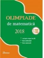 Olimpiade de matematica 2018 (clasa a VIII-a). Variante etapa locala. Faza judeteana. Faza nationala