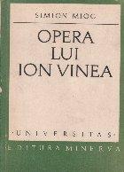 Opera lui Ion Vinea