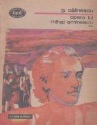 Opera lui Mihai Eminescu Volumul