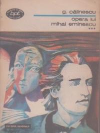 Opera lui Mihai Eminescu, Volumul al III-lea