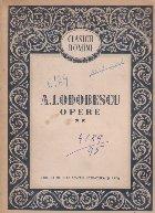 Opere, II - A. I. Odobescu