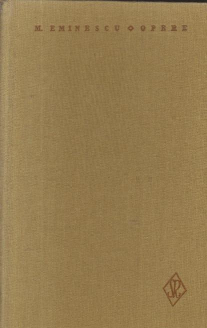 Opere, VI - Proza literara (Mihai Eminescu)