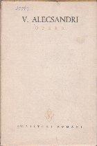 Opere, Volumul al VIII-lea - Corespondenta 1834-1860 (V. Alecsandri)