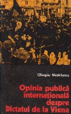 Opinia Publica Internationala despre Dictatul de la Viena