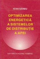Optimizarea energetica a sistemelor de distributie a apei
