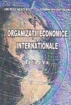 Organizatii economice internationale, Editia a V - a