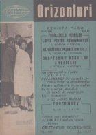 Orizonturi - Revista Pacii, Iunie 1960