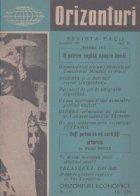 Orizonturi - Revista Pacii, Decembrie 1960