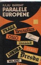 Paralele europene Note calatorie