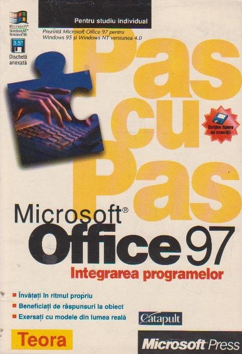 Pas cu pas Integrarea programelor Microsoft Office 97