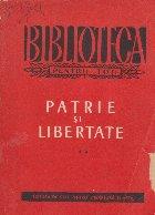 Patrie si libertate. Din poezia anilor 1840-1880, Volumul al II-lea