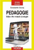 Pedagogie (ediţia a III-a revăzută şi adăugită)
