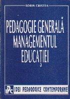 Pedagogie Generala - Managementul Educatiei