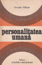 Personalitatea umana - Eseu filozofic