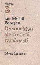 Personalitati ale culturii romanesti