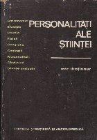 Personalitati ale stiintei - Mic dictionar -