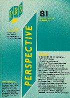 Perspective, Nr. 1, 1992 (81)