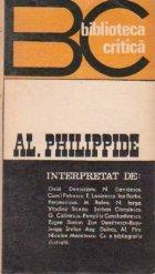 Al. Philipide interpretat de...
