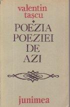 Poezia poeziei de azi