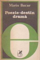 Poezie-destin drama