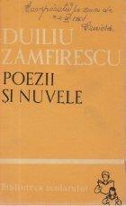 Poezii si nuvele (Duiliu Zamfirescu)