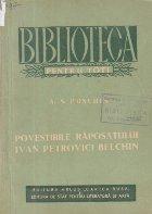 Povestirile raposatului Ivan Petrovici Belchin