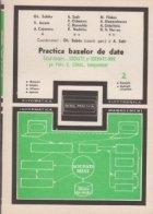 Practica bazelor de date - Totul despre... SOCRATE si SOCRATE-MINI pe Felix C, CORAL, INDEPENDENT (Vol 2)