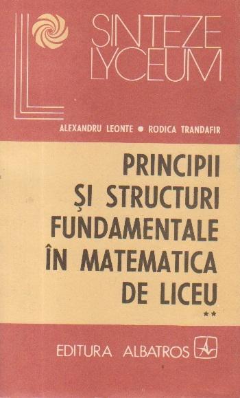 Principii si structuri fundamentale in matematica de liceu, Volumul al II-lea - Geometrie si trigonometrie