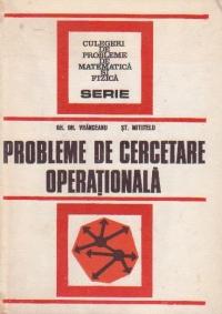 Probleme de cercetare operationala