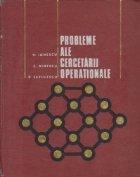 Probleme ale cercetarii operationale