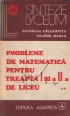 Probleme de matematica pentru treapta I-a si a II-a de liceu, Volumul al II-lea