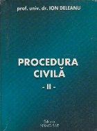 Procedura civila, II