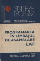 Programarea in limbajul de asamblare LAF