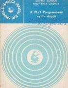 A PL/1 Programozasi nyely alapjai (Bazele limbajului de programare PL/1 - limba maghiara)