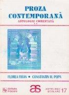 Proza contemporana, Volumul al II-lea, Antologie comentata