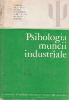 Psihologia muncii industriale