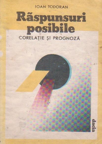 Raspunsuri posibile - corelatie si prognoza -