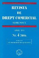 Revista Drept Comercial Anul XVI