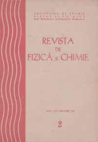 Revista de fizica si chimie, Februarie 1984, 2