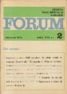 Revista Invatamintului Superior - Forum, Nr. 2/1975