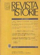 Revista de Istorie, Tomul 28, Nr. 10/1975