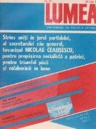 Revista Lumea, nr. 31- 35/1988