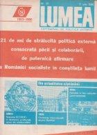 Revista Lumea, nr 21- 29/1986
