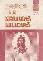 Revista de Medicina Militara, Nr. 3/1999