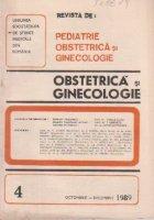 Revista de Obstetrica si Ginecologie, Octombrie-Decembrie, 1989