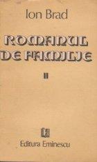 Romanul de familie, Volumul al II-lea