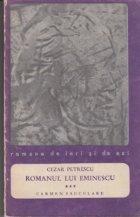 Romanul lui Eminescu Volumul III
