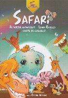 SAFARI. Alfabetul animalelor - Limba Engleza. Carte de colorat (editie de lux)