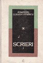 Scrieri, 3 (Pompiliu Constantinescu)