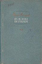 Scrieri in Proza, Volumul al II-lea (Geo Bogza)